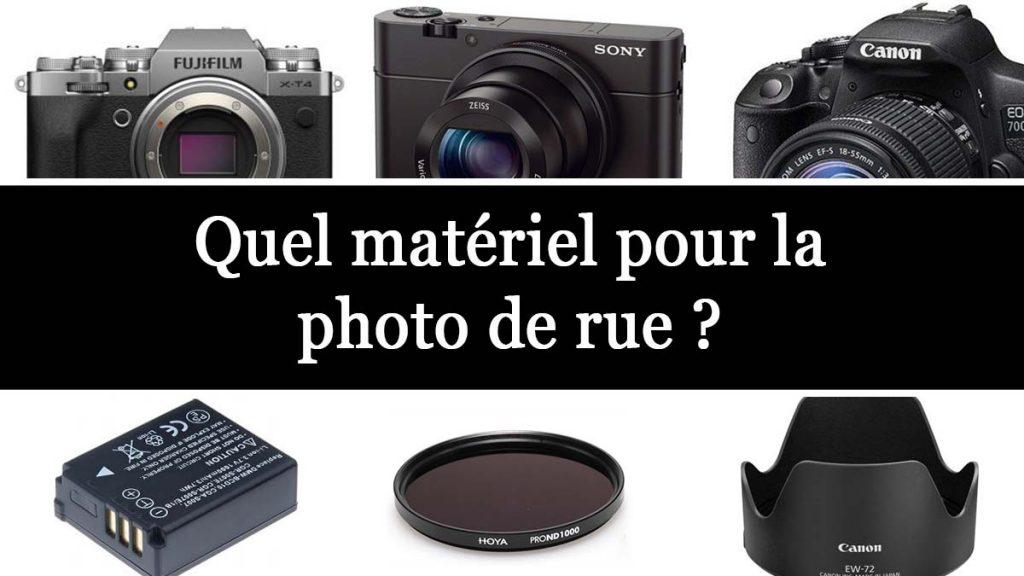 Choisir le matériel pour la photo de rue