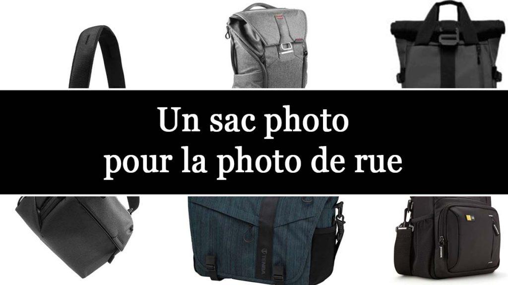 choisir un sac photo de rue
