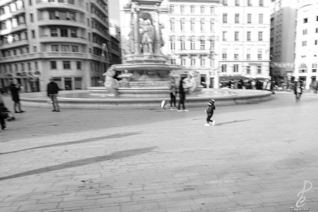 donner des effets en photo de rue