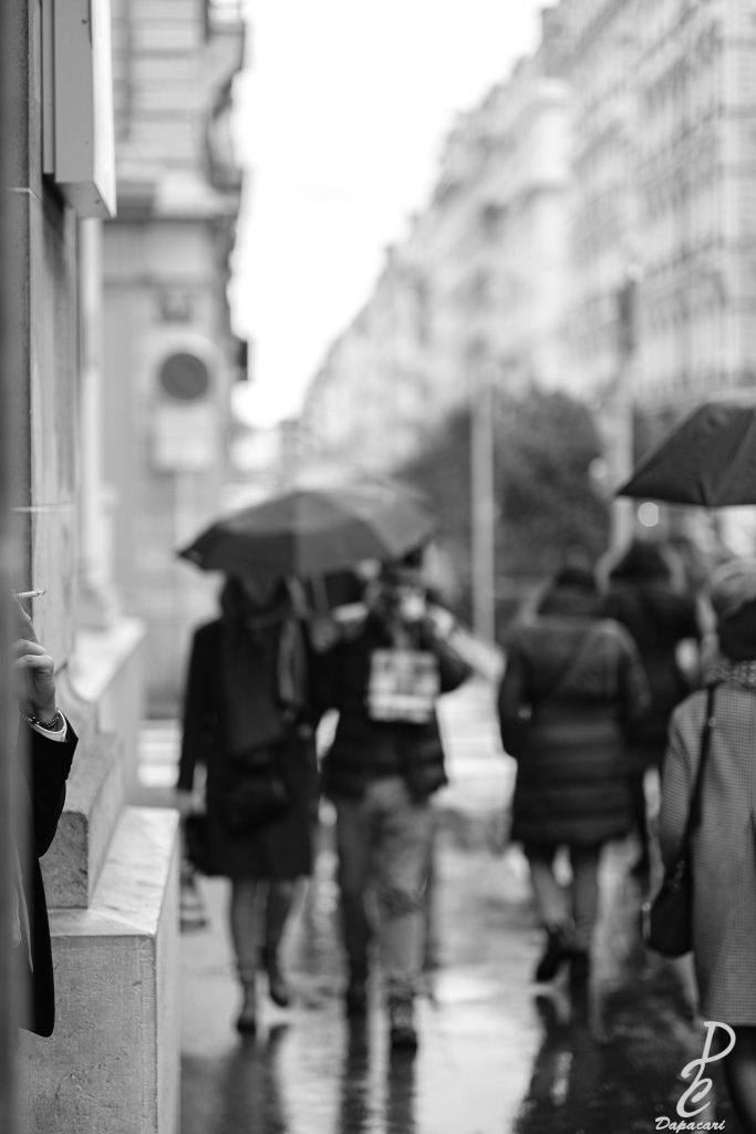 photo de rue fumeur à Lyon